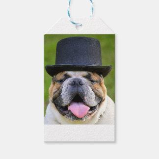 Customizable Bulldog Gift Tags