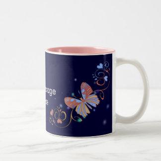 Customizable Butterfly Birthday Mugs