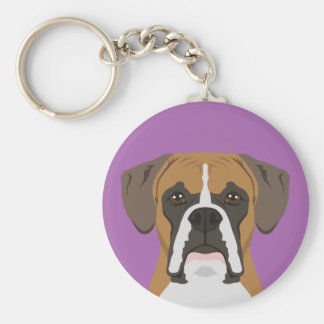 Customizable Button Keychain - Choose Color