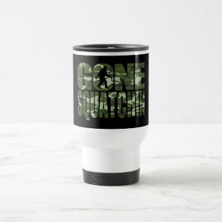 Customizable Camo Gone Squatchin Travel Mug