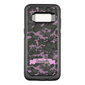 Customizable Camo with Pink OtterBox Commuter Samsung Galaxy S8 Case