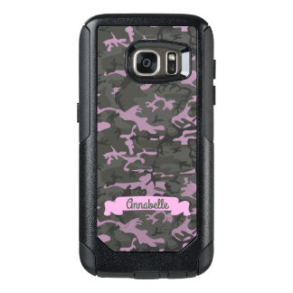 Customizable Camo with Pink OtterBox Samsung Galaxy S7 Case