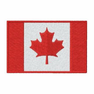 Customizable Canadian Hockey Team Embroidered Hoody