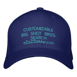 Customizable Caps at eZaZZleMan.com Embroidered Hats
