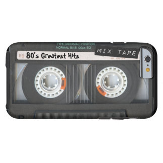 Customizable cassette tape tough iPhone 6 case