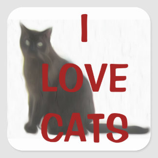 Customizable Cat Lover Gifts & Greetings Stickers