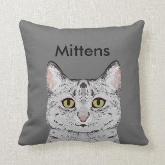 Customizable Cat Pillow - Cute Custom Cat Pillow