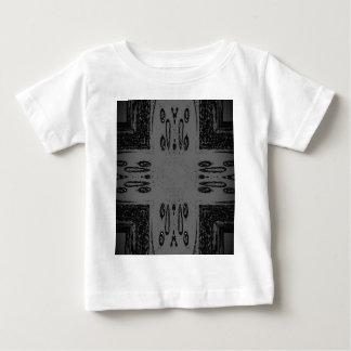 Customizable Center Gray Black Gothic Baby T-Shirt