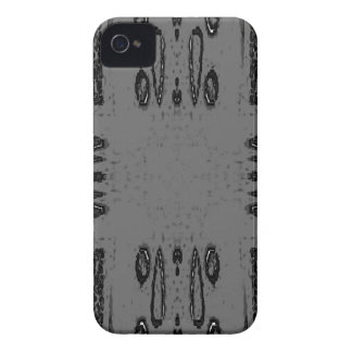 Customizable Center Gray Black Gothic iPhone 4 Case-Mate Cases