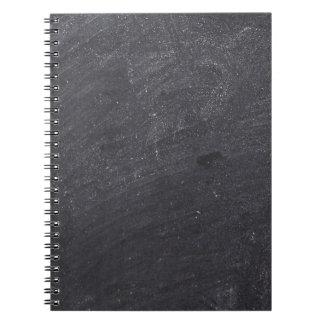 Customizable Chalkboard Base Spiral Note Book