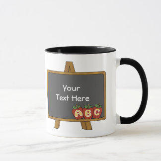 Customizable Chalkboard Teacher Mug