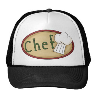 Customizable Chef Gifts and Tees Trucker Hat