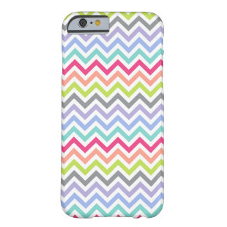 Customizable | Chevron Stripes Barely There iPhone 6 Case