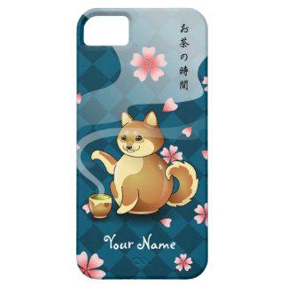 Customizable Chibi Shiba Inu Teapot Tea case Case For The iPhone 5
