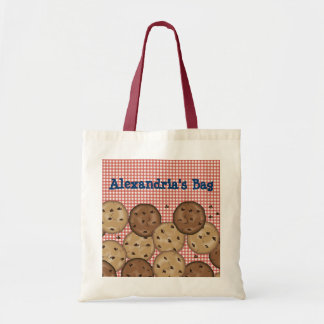 Customizable Chocolate Chip Cookies Budget Tote Bag