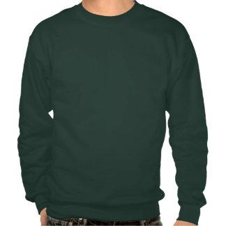 Customizable Christmas Wreath Pullover Sweatshirts