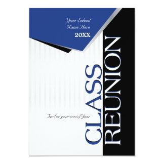 "Customizable Class Reunion Invitation 5"" X 7"" Invitation Card"