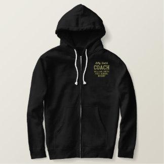 Customizable Coach Sherpa Lined Zip Hoodie