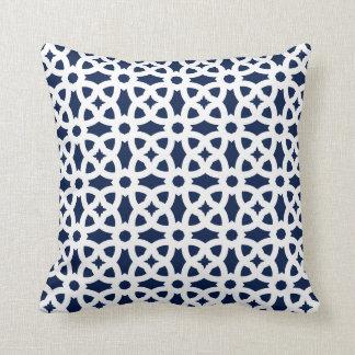CUSTOMIZABLE COLOR - Classic Ornaments - Blue Cushion