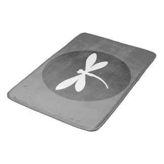 Customizable Color Dragonfly Bath Mat