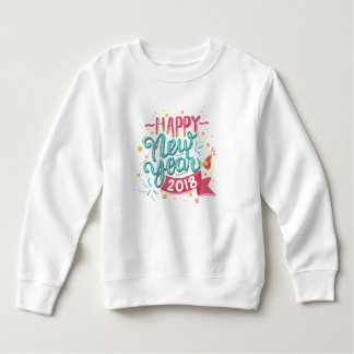 Customizable Colorful Happy New Year | Sweatshirt