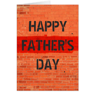 Customizable Cool Fun Unique Photo Father's Day Greeting Card