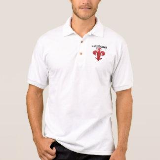 Customizable Crawfish Fleur-De-Lis Polo Shirt