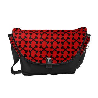 Customizable Crossbones Commuter Bag
