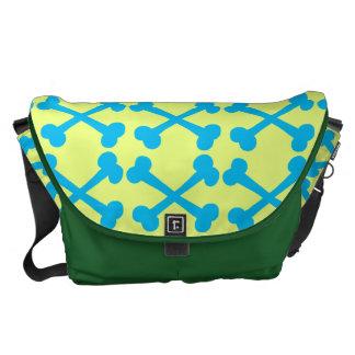 Customizable Crossbones Courier Bags