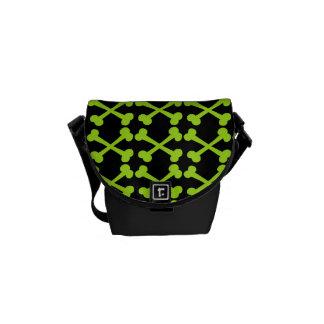 Customizable Crossbones Messenger Bag