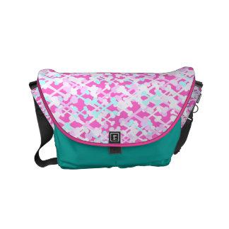 Customizable Crossbones Messenger Bags