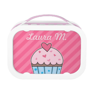Customizable Cupcake Design with Cupcake Pattern Lunch Box