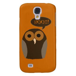 Customizable Cute Hoot Owl Galaxy S4 Cover