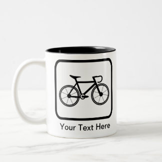 Customizable Cyclist Logo Mug