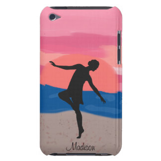 Customizable Dancer on the Beach at Sunset iPod Touch Case-Mate Case