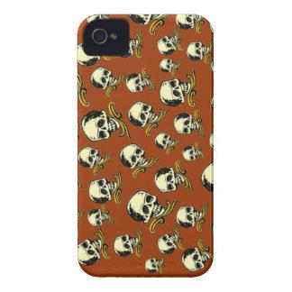 Customizable Decorative Skulls iPhone 4 Case-Mate Cases