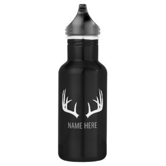 Customizable Deer Hunting Water Bottle