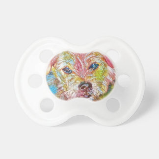 Customizable Design With Digital Drawing Of Dog Dummy