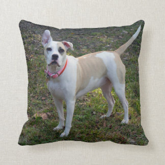 Customizable Dog & Emily Dickinson's Quote Cushion