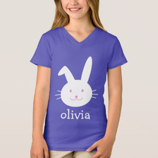 Customizable Easter bunny shirt personalize
