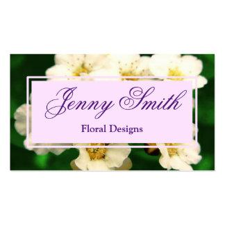 Customizable Elegant Floral Design Business Cards
