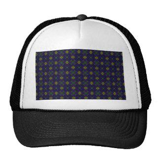 Customizable Elegant Purple Mesh Hats