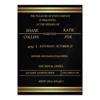Customizable Elegant WEDDING INVITATION