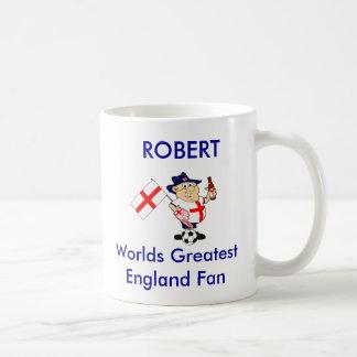 Customizable England Soccer Fan Coffee Mug