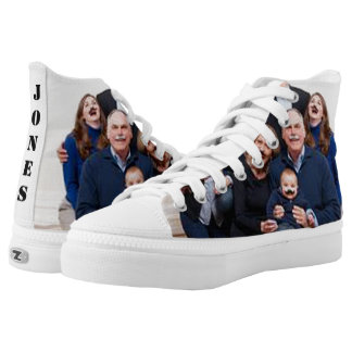 Customizable Family Photo Printed Shoes