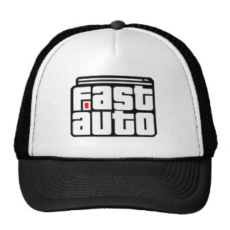 Customizable Fast Auto Racing Cap