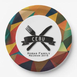 Customizable Fiesta in Cebu Paper Plate