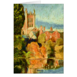 Customizable Fine Art Greeting Card, Cathedral Card