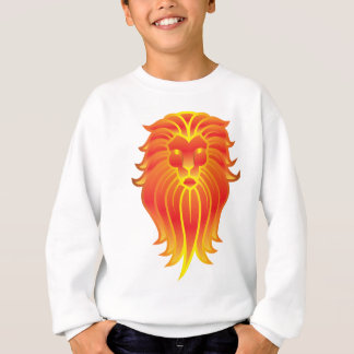 Customizable Fire Leo Zodiac Lion Sweatshirt