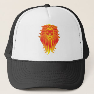 Customizable Fire Leo Zodiac Lion Trucker Hat